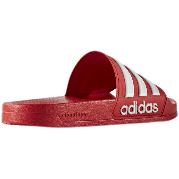 adidas Adilette Shower Slipper Herren scarlet/footwear white/scarlet