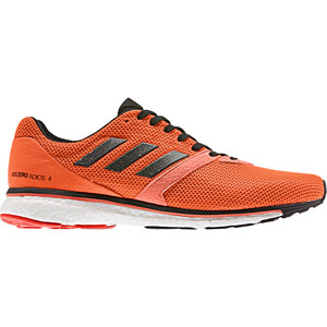 adidas Adizero Adios 4 Schuhe Herren solar orange/core black/hi-res coral solar orange/core black/hi-res coral