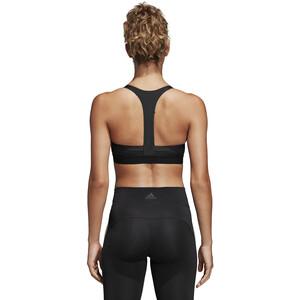 adidas All Me 3-Stripes Sport BH Damen black black