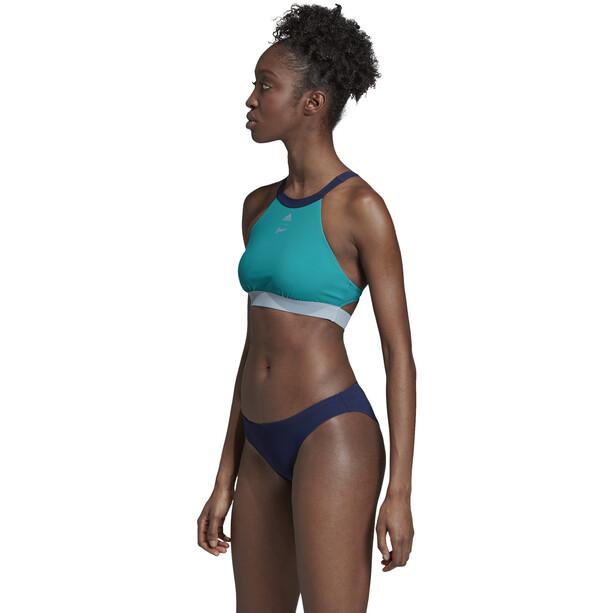 adidas BW Parley Hero Bikini Damen blau/petrol