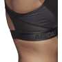 adidas Don't Rest Alphaskin Sport Gepolsterter BH Damen black