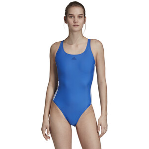 adidas Fit 3S Badeanzug Damen blue blue