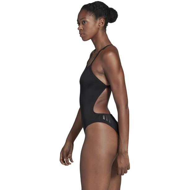 adidas Performance Swim Infinitex+ Badeanzug Damen black/grey