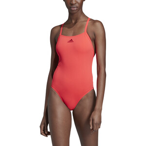 adidas Performance Swim Infinitex+ Badeanzug Damen shock red/active marine shock red/active marine