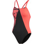 adidas Pro Suit Colourblock Badeanzug Damen black/white