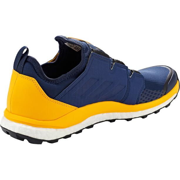 adidas TERREX Agravic Boa Schuhe Herren collegiate navy/collegiate navy/active gold