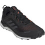 adidas TERREX Agravic Flow Low-Cut Schuhe Herren core black/grey six/solar orange