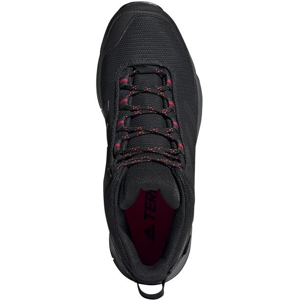 adidas TERREX Eastrail Mid Gore-Tex Wanderschuhe Damen carbon/core black/active pink