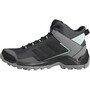 adidas TERREX Eastrail Mid Gore-Tex Chaussures de randonnée Femme, grey four/core black/clear mint