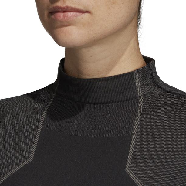 adidas TERREX Knit Langarm Jersey Damen black/white