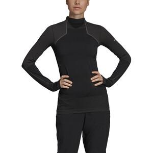 adidas TERREX Knit Langarm Jersey Damen black/white black/white
