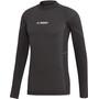 adidas TERREX Knit Langarm T-Shirt Herren black