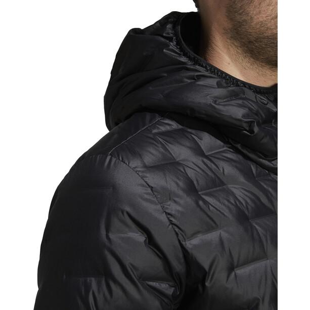 adidas TERREX Light Kapuzen-Daunenjacke Herren black