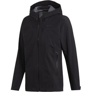 adidas TERREX Parley 3-Lagen Jacke Herren black black