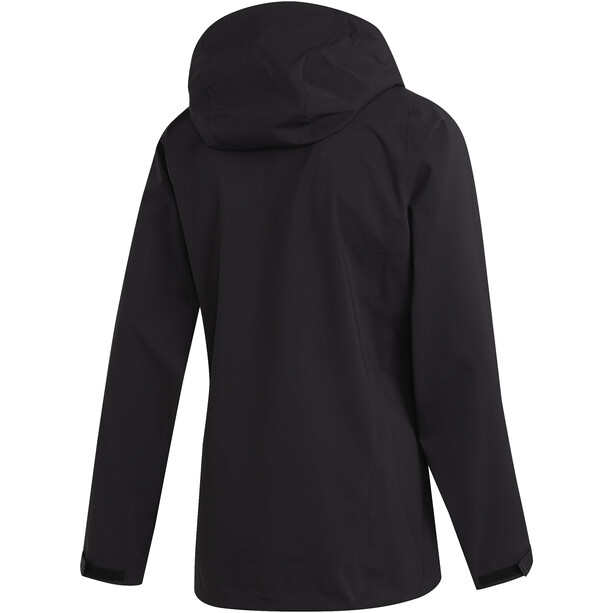 adidas TERREX Parley 3-Lagen Jacke Herren black