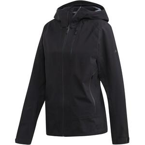 adidas TERREX Parley 3-Lagen Jacke Damen black black