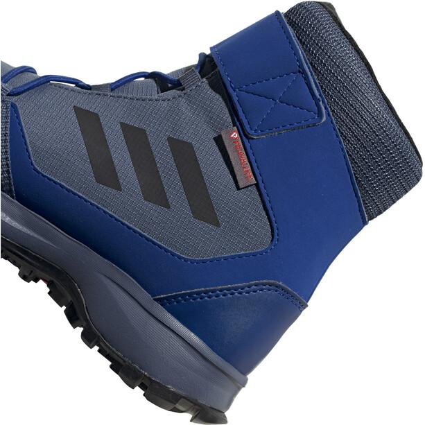 adidas TERREX Snow High-Cut Schuhe Kinder tech ink/core black/active orange