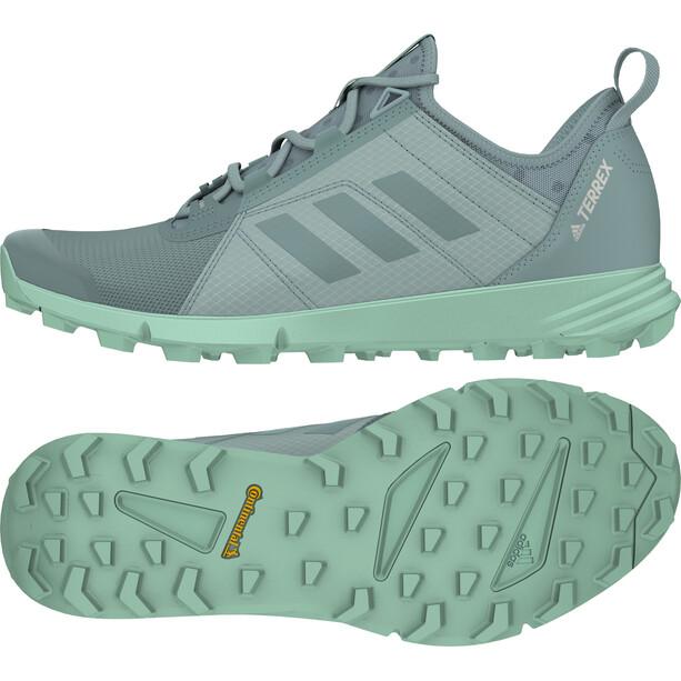 adidas TERREX Speed Schuhe Damen ash grey/ash grey/clear mint
