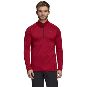 adidas TERREX Tracero Langarm Half-Zip T-Shirt Herren active maroon active maroon