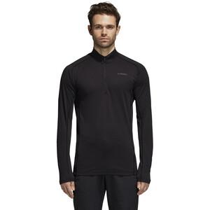 adidas TERREX Tracero Langarm Half-Zip T-Shirt Herren black black