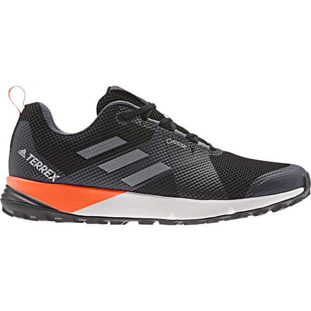 adidas TERREX Two GTX Low-Cut Schuhe Herren core black/grey/solar orange