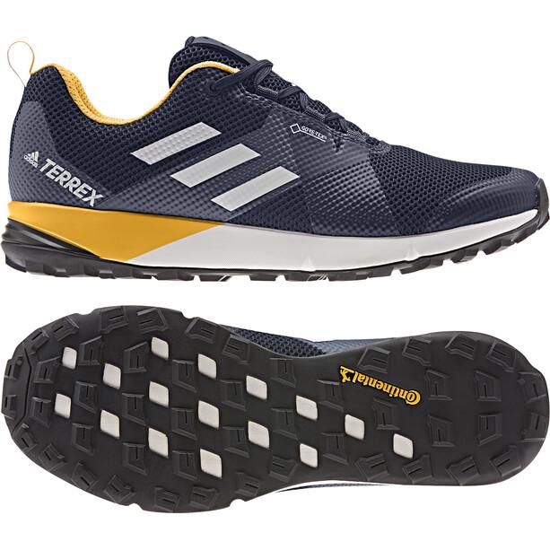 adidas TERREX Two GTX Low-Cut Schuhe Herren legend ink/grey one/active gold