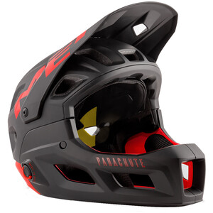 MET Parachute MCR MIPS Helm black red matt black red matt