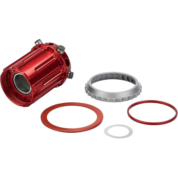Rotor Freehub Body for Shimano 10/11-speed red