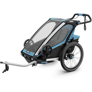Thule Chariot Sport1 Stroller blue blue