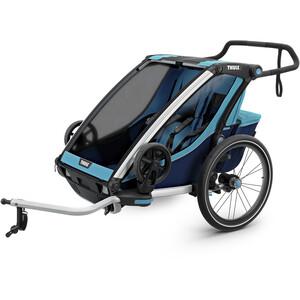 Thule Chariot Cross2 Stroller blue blue