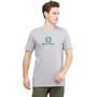 Salomon Coton Logo Kurzarm T-Shirt Herren alloy alloy