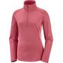 Salomon Discovery LT Half Zip Midlayer Damen pink