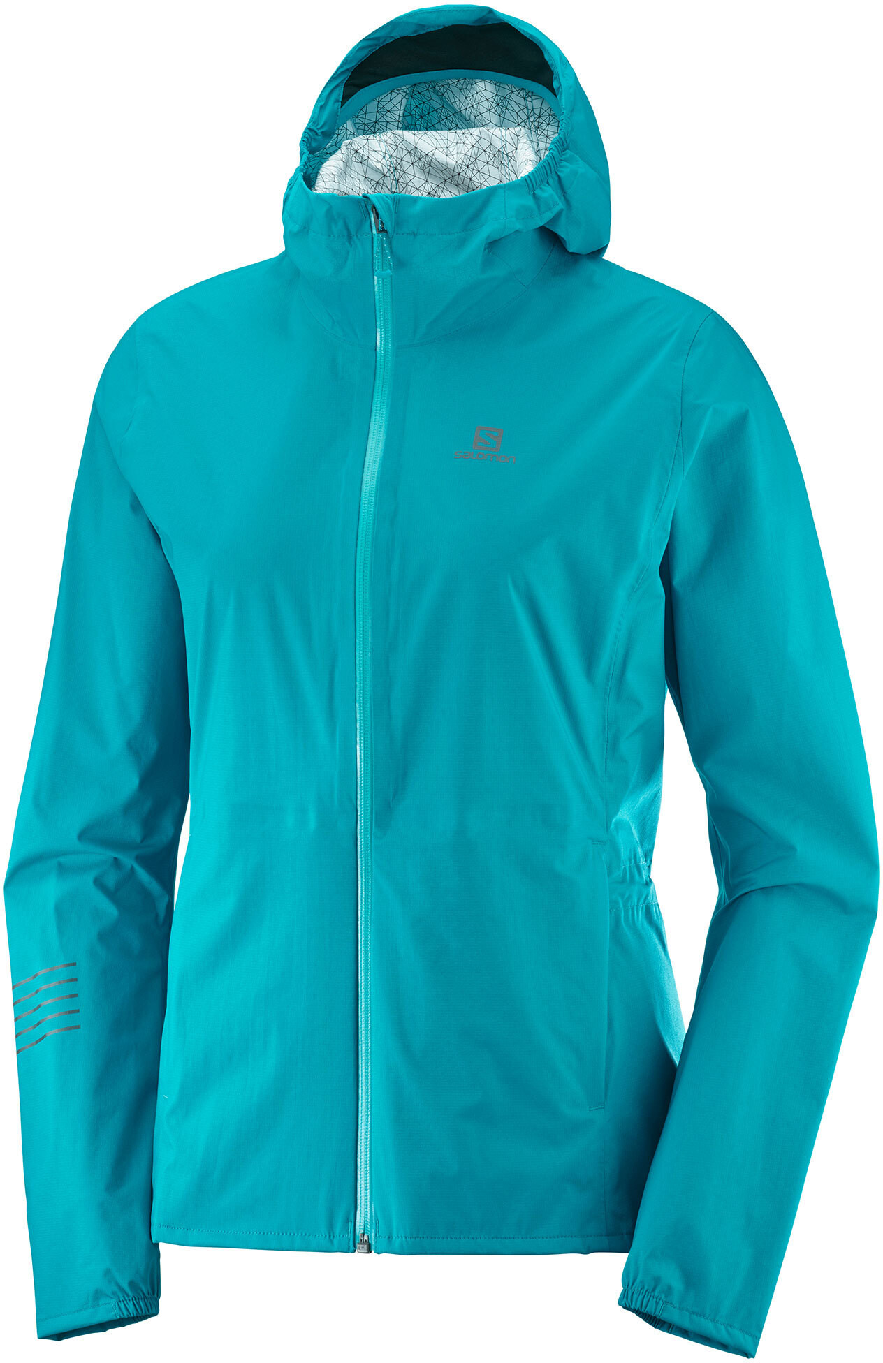 Salomon Lightning WP Jacket Women tile blue