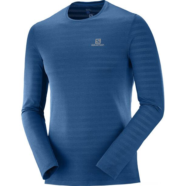 Salomon XA Langarm T-Shirt Herren poseidon