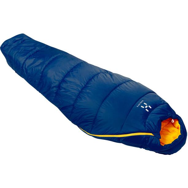 Haglöfs ARA +6 Schlafsack Kinder hurricane blue