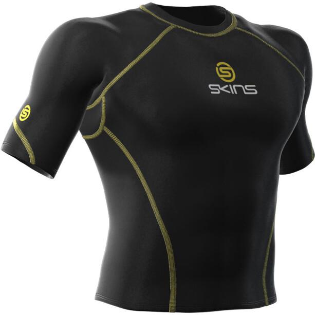 Skins Bio Sport Top Short Sleeve Men Herren black