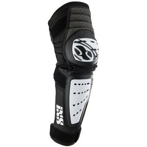 IXS Cleaver Protège-genoux, noir/blanc noir/blanc