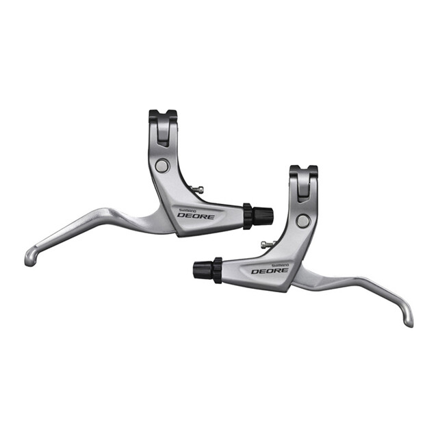 Shimano Deore BL-T611 Bike Brake Levers Front /& Rear Set w//Cables /& Housing