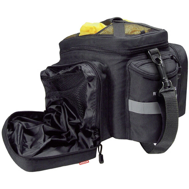 KlickFix Rackpack 2 Plus Gepäckträgertasche schwarz