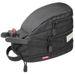 KlickFix Contour Mini Sac porte-bagages, noir noir