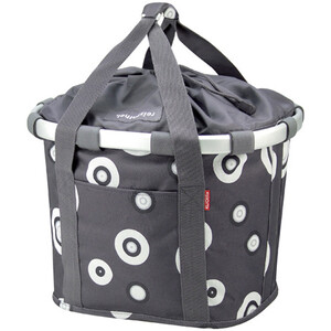 KlickFix Reisenthel Bikebasket bubbles-anthracite bubbles-anthracite