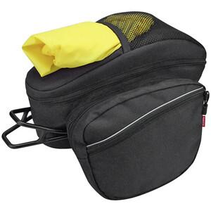 KlickFix Contour Max Touring Sac porte-bagages, noir noir