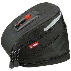 KlickFix Micro 200 Satteltasche Expandable schwarz schwarz