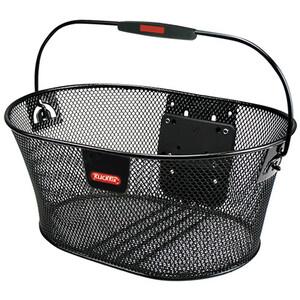 KlickFix Oval Basket dense ブラック