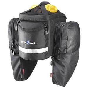 KlickFix Tourino Gepäckträgertasche schwarz schwarz