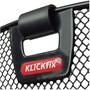 KlickFix Uni Panier avec porte-lampe, black