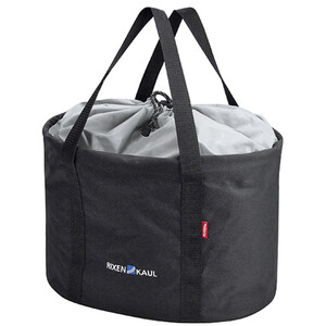 KlickFix Shopper Pro Bike Bag black black