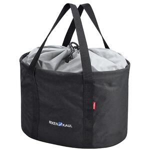 KlickFix Shopper Pro Fahrradtasche schwarz schwarz