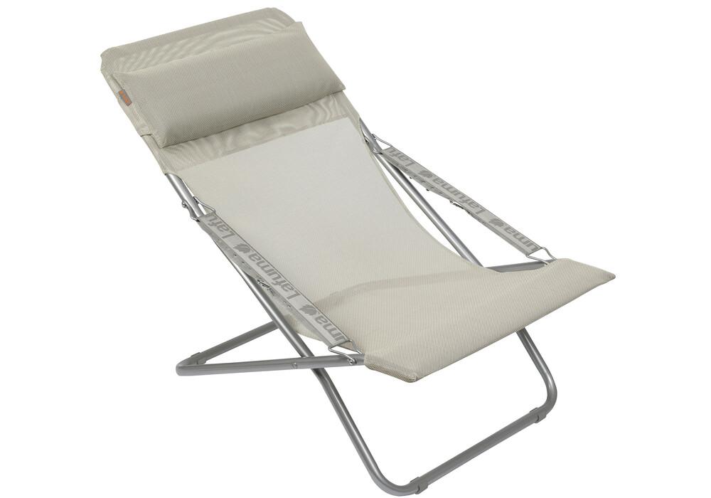 lafuma chaise pliante gris sur cz fr