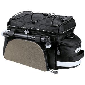 Norco Kansas Gepäckträgertasche schwarz/silber schwarz/silber